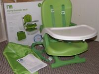 NEW Mothercare travel booster seat / highchair(like Chicco Pocket snack booster)