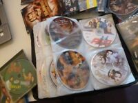 140 dvds of bolly wood films,famous films,super stars of bollywoon indian cinema & a few hollywood..