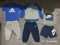 Bundle Lots of boys clothes age 9/12/18 months (1 - 1.1/2 years old) 64 pieces