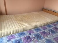 single like a hospital bed. with mot contol