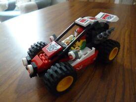 LEGO City - Set 60145 Dune Buggy (Includes Minifigure)