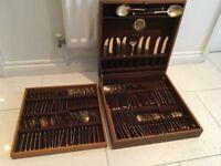 Thai Bronze cutlery set