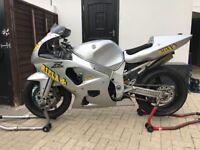 Suzuki gsxr 600 k1 trackbike