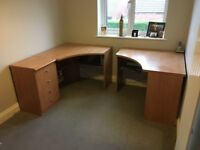Office Desks and Drawers.