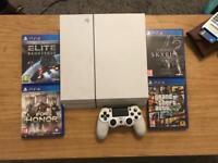PS4 500gb PlayStation white bundle