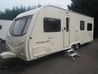 Avondale Argente 4 Berth Caravan 2006- Motor Mover and full awning