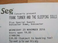 2 x Frank turner tickets Doncaster 23rd november