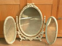 FRENCH LOUIS DRESSING TABLE MIRROR, SO PRETTY,CAN DELIVER LOCAL TO STEVENAGE