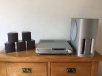 Sony DVD player with 5.1 surround sound sound system