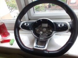 Golf gti mk7 mark 7 steering wheel