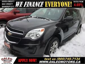 2013 Chevrolet Equinox LS | AWD | ONLY 74KM!