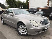 Mercedes-Benz E Class 2.7 E270 CDI Classic 12 MONTHS MOT 3 MONTHS WARRANTY 4 NEW TYRES 2 OWNERS