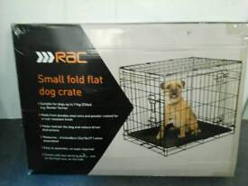 Boxed small animal cage