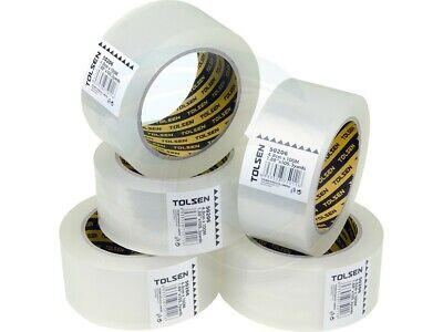 5 Rolls Shipping Sealing Box Carton Packing Packaging Tape 48mm X 100m
