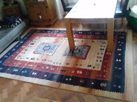 Beautiful Solid Patterned Large Rug Size 200cm x 300cm