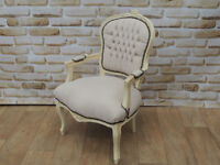 Beautiful armchair Cream (Delivery)