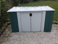 6 x 3 Metal Storette. Versatile Garden Store. New. Flatpack. Pick up today