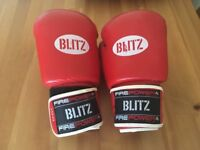 Red Boxing Gloves - worn a few times