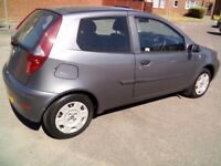 FIAT PUNTO WITH LONG M.O.T TILL 10/07/2019.JUST TWO PREVIOUS OWNERS