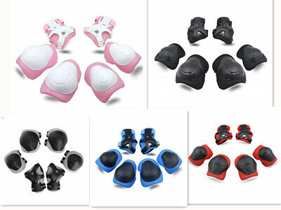 - Kids Protective Gear Knee Pads Elbow With Wrist Guards for Skating Cycling Bike