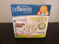 Dr Brown's Natural Flow Deluxe Newborn Set
