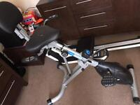 Recumbent bike can deliver