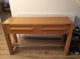 Console table marks and Spencer sonoma