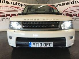LAND ROVER RANGE ROVER SPORT 3.0 TD V6 HSE 5dr Auto (white) 2010
