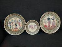 Hand made Greek Memorial plates