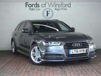 AUDI A6 2.0 Tdi Ultra S Line 5dr S Tronic [Heated Seats, Privacy Glass, Powered Bo (grey) 2016