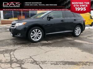 2014 Toyota Venza XLE/LEATHER/PANORAMIC SUNROOF/REAR VIEW CAMERA