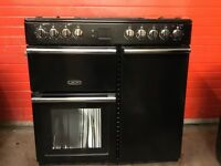 Leisure range dual fuel gas cooker CMCF96K 90cm black double oven 3 months warranty free local deliv