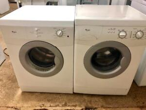 """Whirlpool Front Load 24"""" Apartment Size Washer and Dryer, Free 30 Day Warranty, Save The Tax Event"""