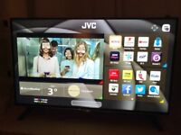 Jvc 43 inch 4K ultra hd smart tv. Excellent condition £250 NO OFFERS.CAN DELIVER