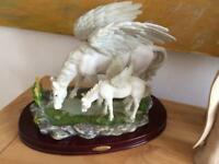 Collectible Pegasus statues mystical