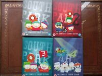 Southpark Seasons 1-4