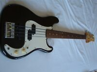Fenix by Young Chang electric bass guitar - Fender Precision homage - faulty truss rod/spares/repair