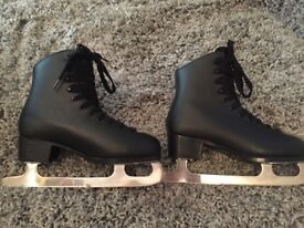 Graf ladies ice skates size 6