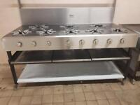 Cooker commercial 9 Burners new