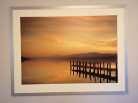 IKEA Large Sunset jetty picture