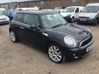 2007 MINI COOP S SUPERCHARGED PUSH BUTTON START IN GLEAMING BLACK LONG MOT 6 SPEED GRARBOX SUPER CAR