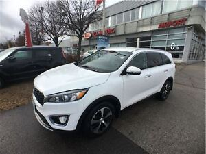 2016 Kia Sorento 3.3L EX 7-Seater, Leather, Blindspot Detection