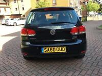 VW GOLF TDI 2010 AUTOMATIC BLUE MOTION 1.6 DIESEL SPECIAL EDITION Volkswagen not polo BMW or Opel