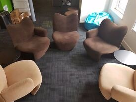 Kron Multipla Chairs (by Jane Dillon) 2007 - set of 5 (or sold separately) - Great Condition!