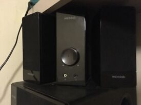 Speakers micro lab with subwoofer