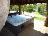 Offer 4 nights for the price of 3 midweek. Hot tub, Fishing, Romantic, sleeps two adults £805.00