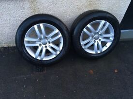 Audi Q7 Alloys And tyres