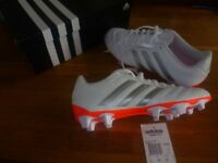 Adidas Goleto V FG football moulded studs size 6