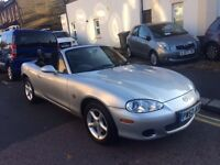 MAZDA MX-5 1.8 2002 (52) FULL COMPREHENSIVE SERVICE HISTORY 2 KEYS 2 OWNERS MINT INSIDE AND OUT