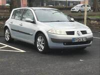 2004 RENAULT MEGANE 1.9 DIESEL *LOW MILES* *MOT* *SERVICE HISTORY* P/X * NATIONWIDE DELIVERY